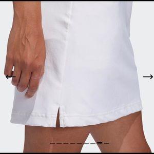 Adidas women climacool white golf skorts